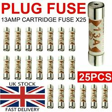 13A Domestic Fuses Plug Top Household Mains & Electric 13amp Cartridge Fuse UK