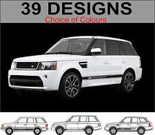 Range Rover Range Rover Sport Rayas Laterales Adhesivos Calcomanías de raya lateral
