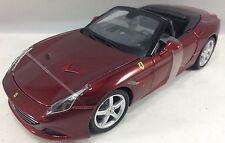BBurago - 18-26011 - Ferrari California T 1:24 Open Top Die Cast Car Burgundy
