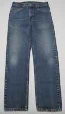 #721_LEVI'S 505 USA Made Men's 31x32 Straight Fit Denim Jeans Medium Wash
