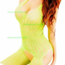New Bodystocking Fishnet Bodysuit Women Body Stocking Chemise Nightwear Lingerie