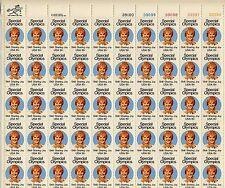 1979 - Special Olympics  -  Mint Sheet  - Scott # 1788 - Pane of 50 - 15¢