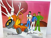 Hanna Barbera Cel Signed Speed Buggy Rare Super 70's Animation Art Cell