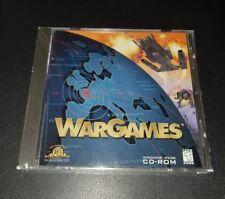 WarGames War Games PC CD-ROM Old School windows 95/98