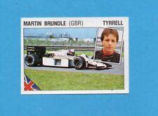 SUPERSPORT 1986-PANINI 86-Figurina n.45-BRUNDLE-TYRRELL-AUTOMOBILISMO-Recuperata