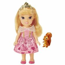 Disney Princess Petite Toddler Doll - Aurora and Squirrel  *BRAND NEW*
