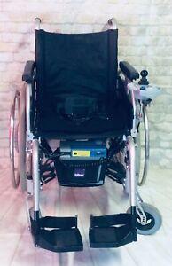 Zusatzantrieb E Fix mit Faltrollstuhl Primus ML Sitzbreite 47 Alber Rollstuhl