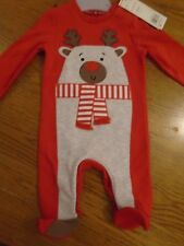 BNWT baby unisex Christmas outfit/one piece/romper. 0-3 mths. F&F    (2/2)