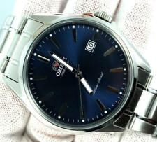Orient Stainless Steel Automatic 42mm Date Watch FER2D003DO Dark Blue Dial