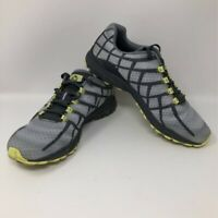 Merrell Womens Reverb Running Shoes Gray Black J19866 Low Top Lace Up Mesh 7 M