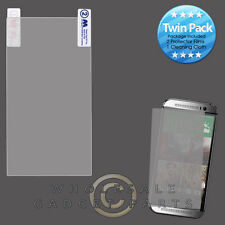 HTC One M8 MYBAT LCD Screen Protector-Twin Pack Guard Shield Protection Guard