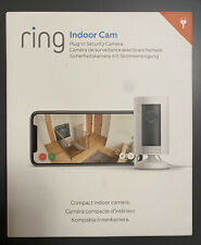 Ring Indoor Cam WiFi IP Security Camera - White - NEW & Sealed