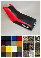 Yamaha Moto4 80 Seat Cover YFM80 1992-01 2-tone BLACK & RED   (SIDE LOGO/ST/6pc)