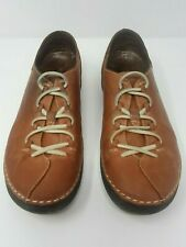 Spring Step Carhop Women's Shoes Brown Genuine Leather Walking Size US 8.5 EU 39