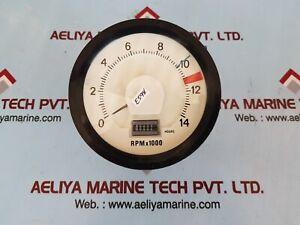 Digilog dl120c 100r tachometer indicator