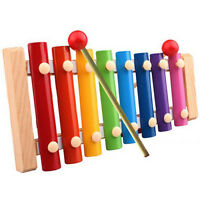 New Baby Kids Musical Toys Xylophone Wisdom Development Wooden Instrument TOY AU