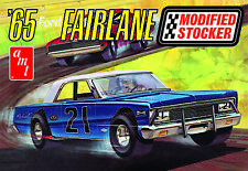 1:25 AMT 1965 Ford Fairlane Late Model Modified Stock Car Plastic Model Kit MISB