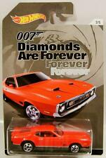 1971 '71 MUSTANG MACH 1 DIAMONDS ARE FOREVER 007 JAMES BOND HOT WHEELS 2015 '15