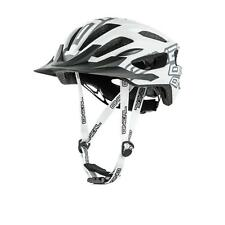 O'Neal Q RL Halbschalen Helm MTB Weiß All Mountain Enduro Trail Fahrrad MTB AM