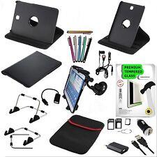"""22 Teile Samsung Galaxy Tab S2  8,0"""" T715N Tablet Zubehör set Tasche Glasfolie"""