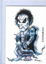 SANDMAN DC COMICS ** TRADING CARD ART SIGNED by RAK ** NEAR MINT SEE MY STORE