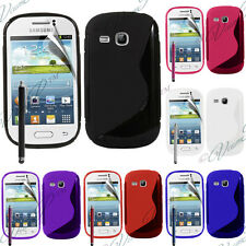 Cover Custodia TPU Silicone Samsung Galaxy Young S6310 Duos S6312 GT-S6310L