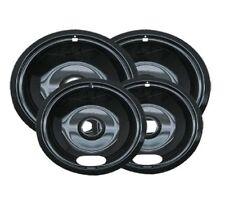 Stove Drip Pan Kit Black, for Whirlpool Kenmore W10288051