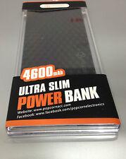 Black Popcorn Powerbank 4600mah ultra slim stylish design (Portable Charger)
