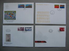 NORWAY, 4x cover FDC 1998, music palace playing Valentine's day