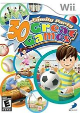 Family Party 30 Great Games Nintendo WII Video Game Original UK Release
