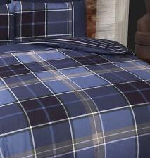 Argyle Single Quilt Duvet Cover and Pillowcase Reversible Bedding Bed Set Tarta