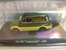 Modellino FIAT 500 Commerciale Olio Carli 1968 scala 1/43