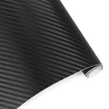 127*30cm 3D Black Car Interior Accessories Pane Carbon Fiber Vinyl Wrap Stickers