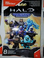 1 HALO Mega Construx Maverick Series, A20 Code Figure,SEALED Blind Bag