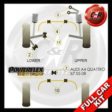 Audi S4 inc Avant (05-08) Powerflex Black Complete Bush Kit