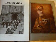 ILLUSTRATION 1919 3979 DEGOUTTE MENESSIER PAIX Autriche ROTHONDES READ PESSOA