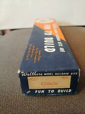 Walthers  #7670  COACH  Monitor Roof ** VINTAGE WOOD KIT **