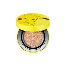 [Tonymoly] Pokemon Pikachu Mini Cover Cushion SPF50+ PA+++ (9g) (01 Skin Beige)
