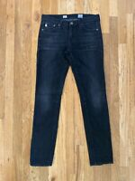 AG Adriano Goldschmied Women's Stilt Cigarette Leg Faded Black Gray Jeans 27