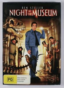 Night At The Museum DVD FREE POST