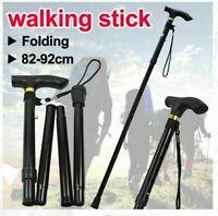 Walking Stick Folding Stick Retractable Climbing Pole Travel Cane Hiking Stick