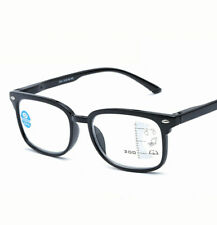 Retro Rivet Frame Multifocal Varifocal Progressive Reading Glasses Readers~+3.00