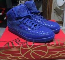 Nike Air Jordan Retro 2 II Don C Just Don Blue Suede Size 13 717170-405