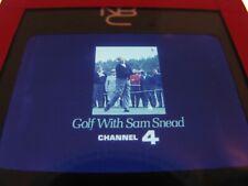 "Vintage GOLF w/ ""SAM SNEAD"" Driver Photo~ NBC SPORTS Promo~ CELEBRITY CHALLENGE"