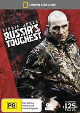 Vinnie Jones - Russia's Toughest (DVD, 2013, 2-Disc Set) New & Sealed
