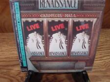 RENAISSANCE CARNGIE HALL JAPAN RARE REPLICA TO ORIGINAL LP OBI SEALED 2 CD SET
