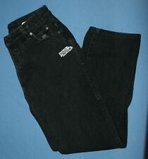 Black Harley Davidson Classic Jeans Sz 4R 4 R Low Rise Biker HD Womens