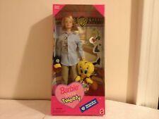 1998 Warner Brothers Studio Store Barbie Loves Tweety Bird NEW