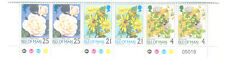 Isle of Man Flowers booklet pane mnh