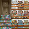 UK 3D Artistic PVC Decor Creative Decal Self-adhesion Stairs Waterproof Stickers